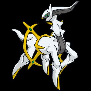 Arceus Pokédexia