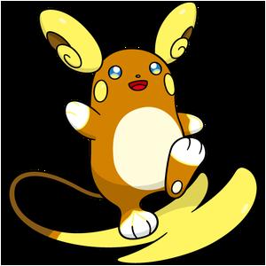 Pokemon Raichu Raichu (Alolaform) –...